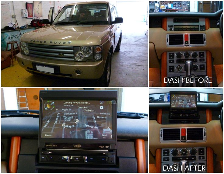 This 2004 Range Rover received a new #Clarion NZ502A multimedia head unit and reverse camera. The head unit screen tucks away neatly inside the unit when not in use. Installed by David Phung at our Morley store.