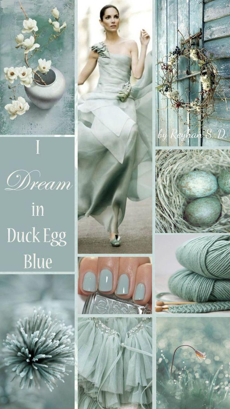 '' Duck Egg Blue '' by Reyhan S.D.