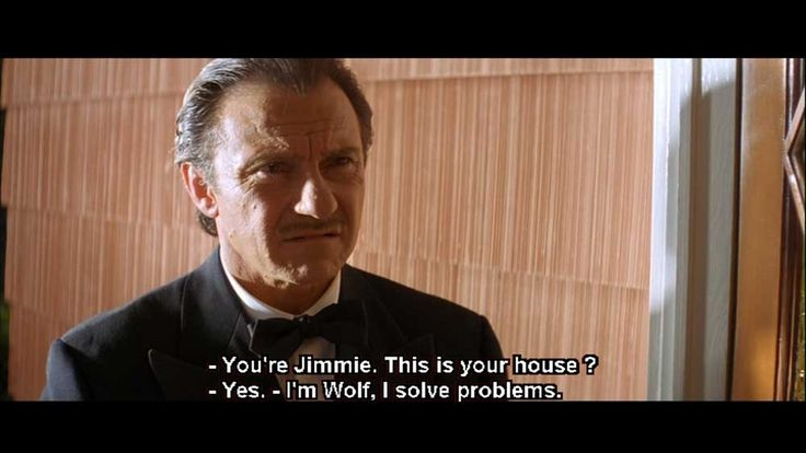The Wolf » Pulp Fiction Quotes