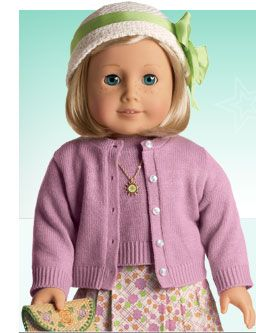 One of my two favorite American Girl dolls. I have this one. Doesn't it look like me? LOL.
