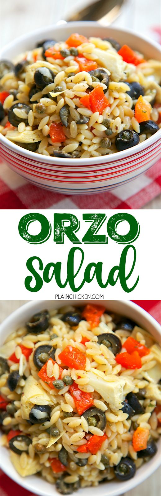 orzo salad salad reecipes salad days yummo salads healthy salads food ...