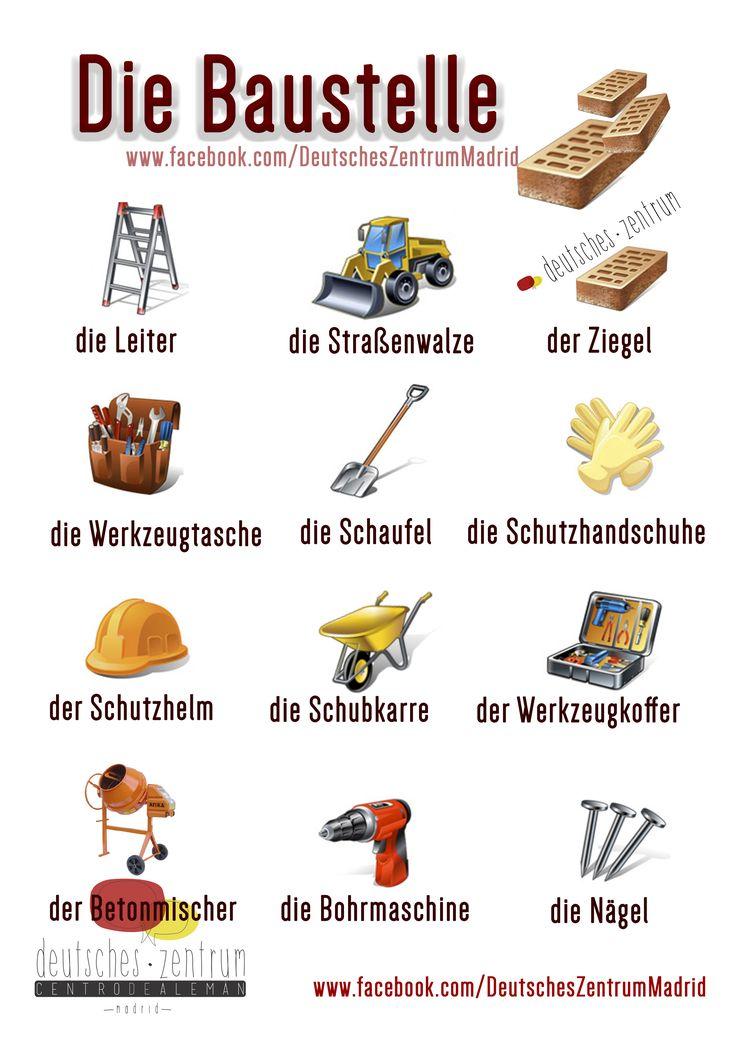 Baustelle Deutsch Wortschatz Grammatik