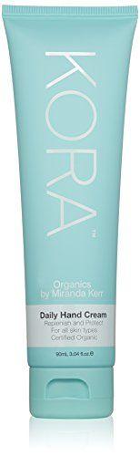 KORA Organics by Miranda Kerr Daily Hand Cream, 3.04 fl. oz. KORA Organics by Miranda Kerr http://www.amazon.com/dp/B00NV5GD6Q/ref=cm_sw_r_pi_dp_I6U3wb0ZH0HVY