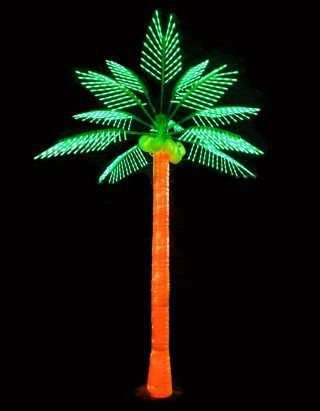 Christmas Palm Tree Outdoor Artificial Trees