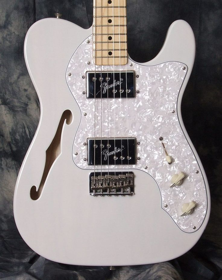 Fender 60th Annivesary Special Edition White Telecaster Thinline