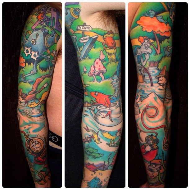 """Story Sleeve Tattoo: From """"Dr. Seuss Tattoo Love"""" Story By Undefined On Storify"""