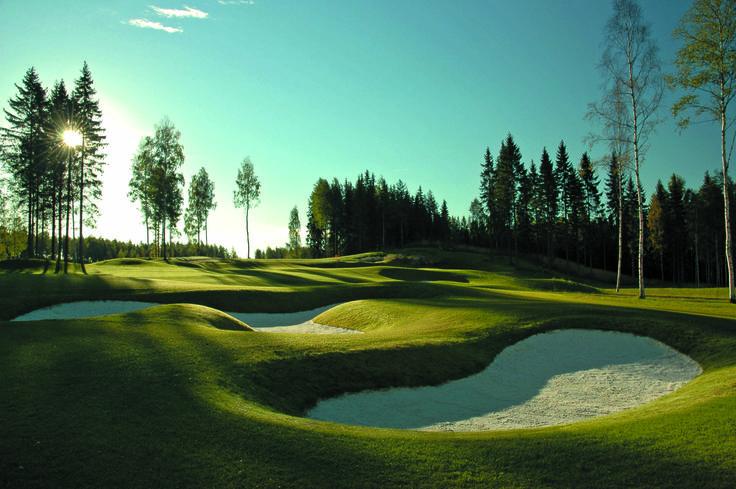 15th #linnagolf #vanajanlinna #golf