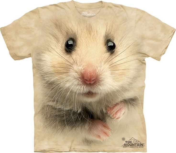 Big Face hamster t-shirt the mountain - T-Shirt with Pets - Cute T-Shirts - Animals t-shirts for women - t-shirt present idea - small pet t-shirts - t-shirts with small pets for kids - kids clothing