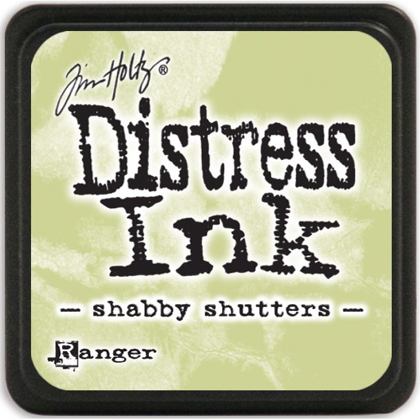 Tim Holtz Distress Mini Ink Pad - Shabby Shutters - Click to enlarge