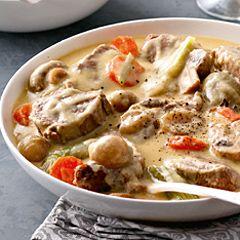 Blanquette de veau à  l'ancienne : découvrez les ingrédients, la préparation et la cuisson pour cette recette de cuisine.