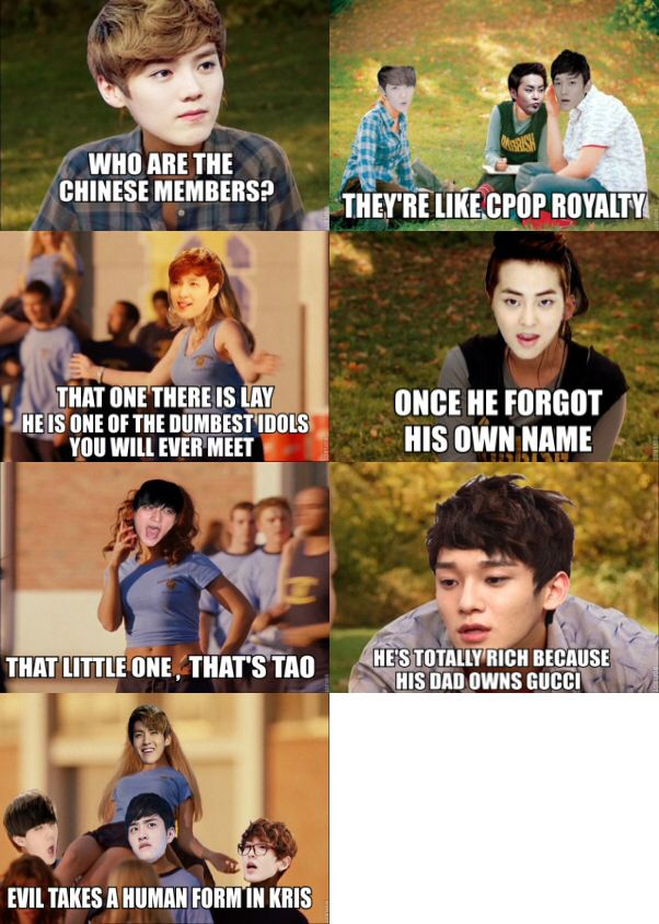 Mean Girls [EXO-M Version] bahaha oh my goodness!!!!