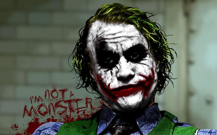 joker | batman joker wallpaper Let the Villain, not hero, get the girl!