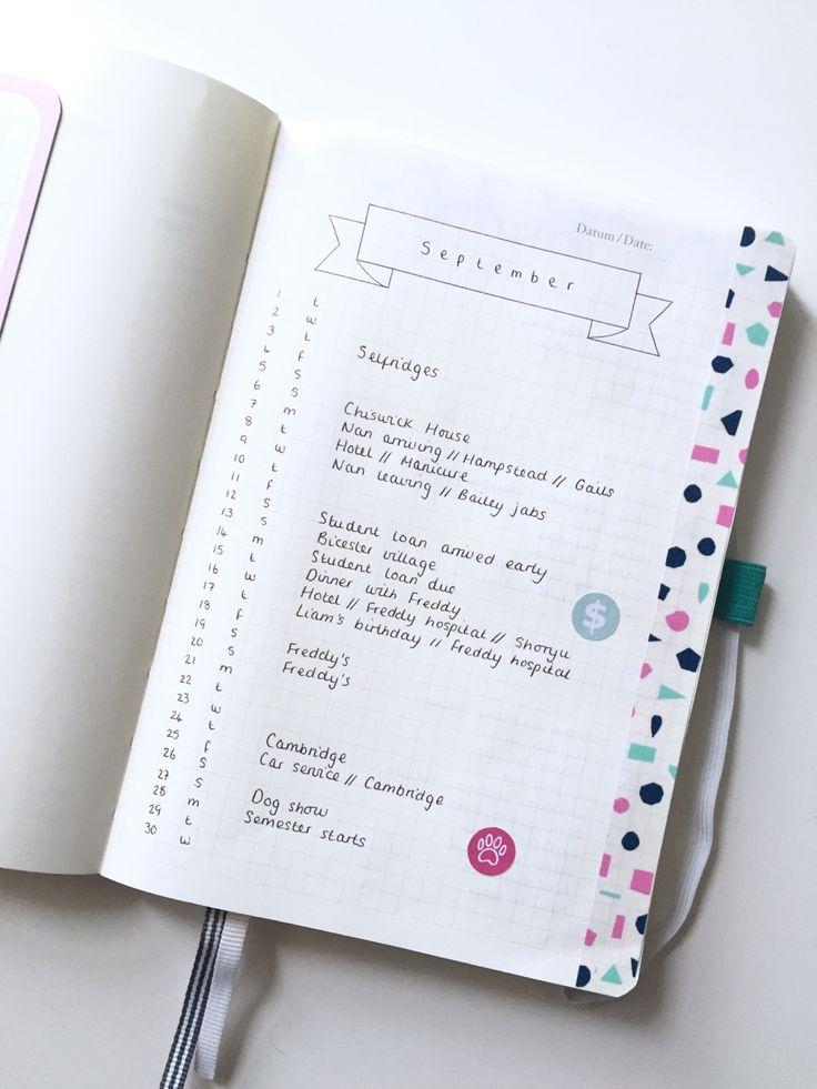 Bullet journal first page. | journal | Pinterest | First ...
