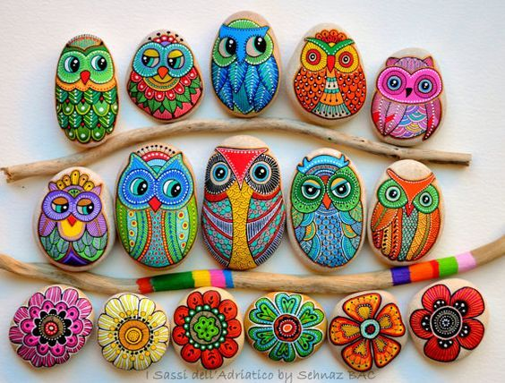 We are in love with these gorgeous Owl Rocks and they couldn't be easier to make. We've put together lots of versions to inspire you. View…