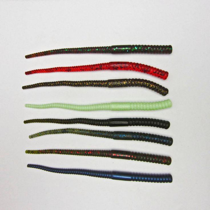 Сумасшедший рыба - 10 шт. рыбалка мягкие червь для баса судак лосось Swimbait 130 мм / 3.4 г