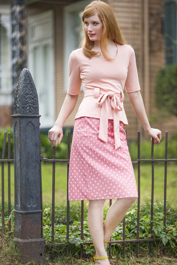 Shabby Apple - Perfect Pastel Pencil Skirt Coral, $68.00 (http://www.shabbyapple.com/shop/perfect-pastel-pencil-skirt-coral/)