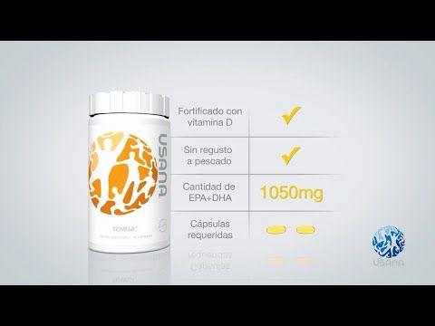 USANA® BiOmega™ Productos USANA [ESPAÑOL] USANA MEXICO | US-Spanish | COLOMBIA | SaludVerdadera.com - YouTube