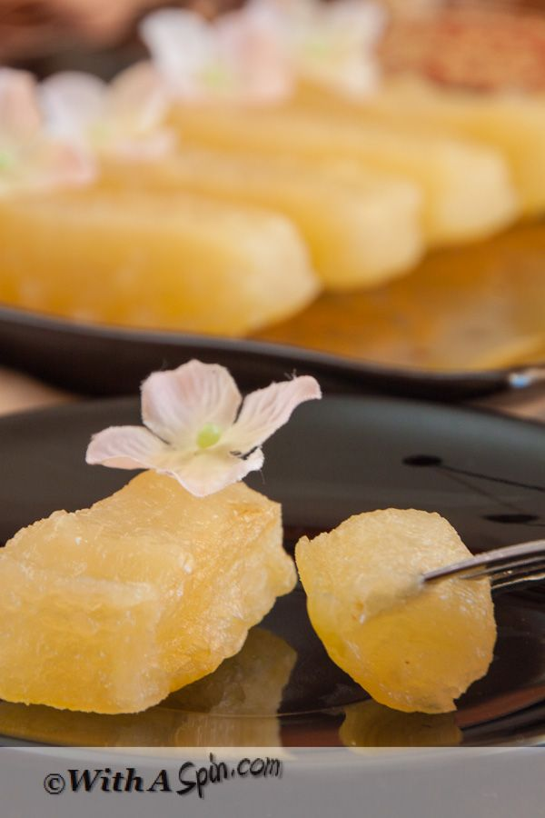 Candied Winter Melon - Chal Kumrar Morobba