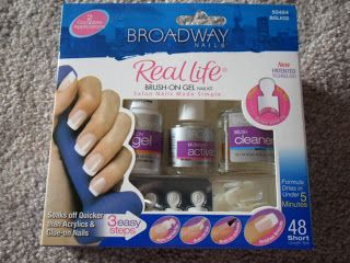 Amber Likes Beauty: Broadway Brush-On Gel Nail Kit Review