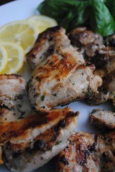 Mediterranean Spiced grilled chicken