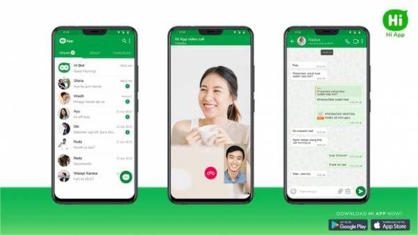 Aplikasi Lokal Pesaing Whatsapp Ini Punya Fitur Yang Lebih Menarik Komunikasi Smartphone Reno