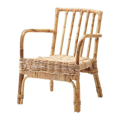 IKEA - JASSA, Chair, Handmade by skilled craftspeople, which makes every product unique.The furniture looks just as good in the living room as on a patio.Treated with clear varnish which gives natural color variations and allows the furniture to age beautifully over time.