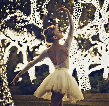 dance in the tree light.