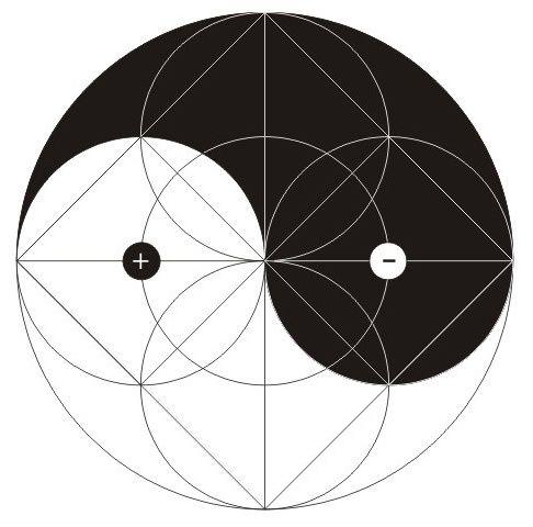 Yin Yang as Sacred Geometry