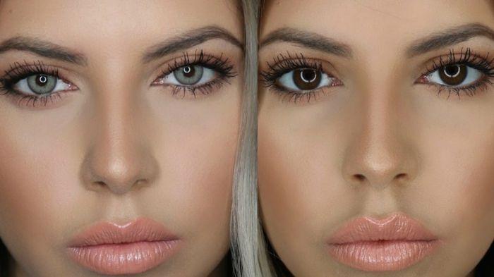 1001+ Ideen für Augenfarbe Bedeutung Charakteristiken (mit Bildern)   Haarfarbe für braune augen