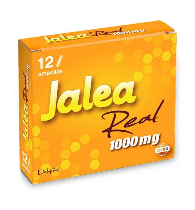 AMPOLLAS JALEA 1.000 mg. Caja 12 ampollas.