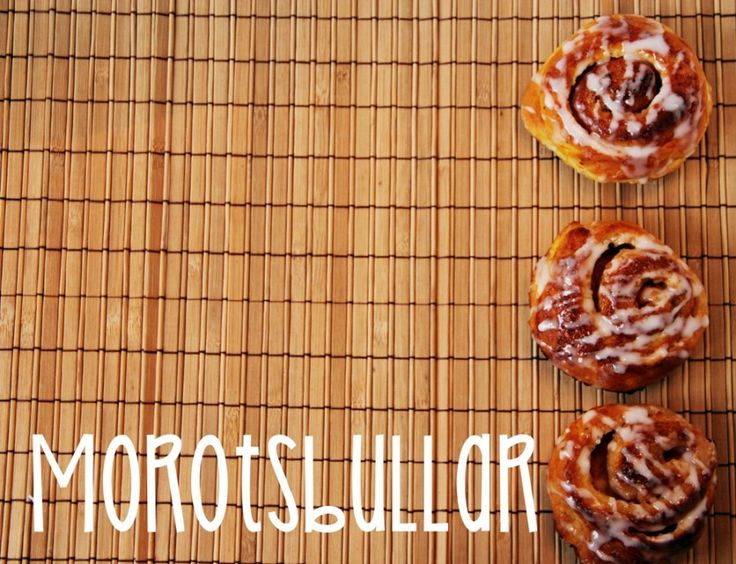 Morotsbullar med kanel och cream cheese | Heavenly Cupcake