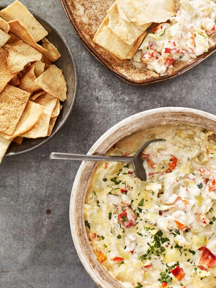 Artichoke and Maine Lobster Dip   Maine Lobster Marketing Collaborative