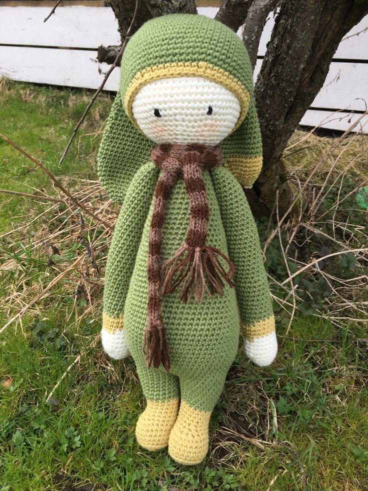 Rita the rabbit made by Linn/ crochet pattern by Lalylala