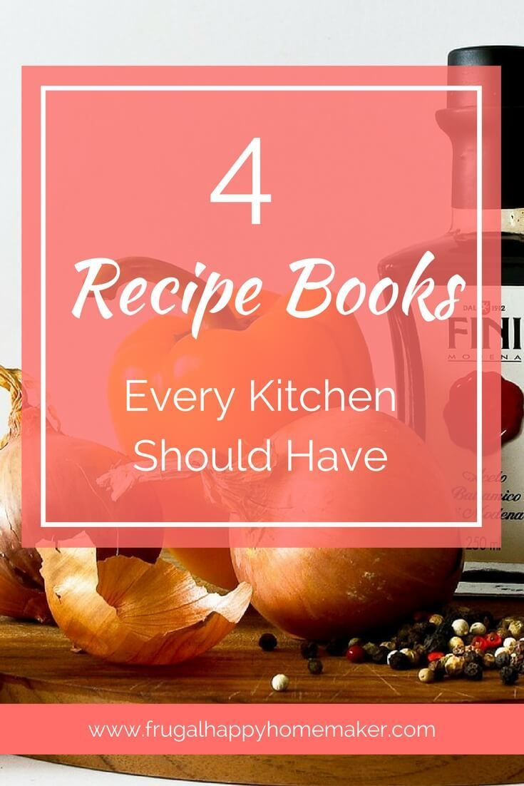 Top recipe books essential for every kitchen.