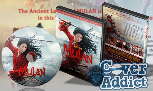 Mulan 2020 Dvd Cover In 2020 Dvd Covers Mulan Movie Blog