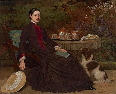 Artist: Robert Dowling   Miss Robertson of Colac 1885-86  NGA