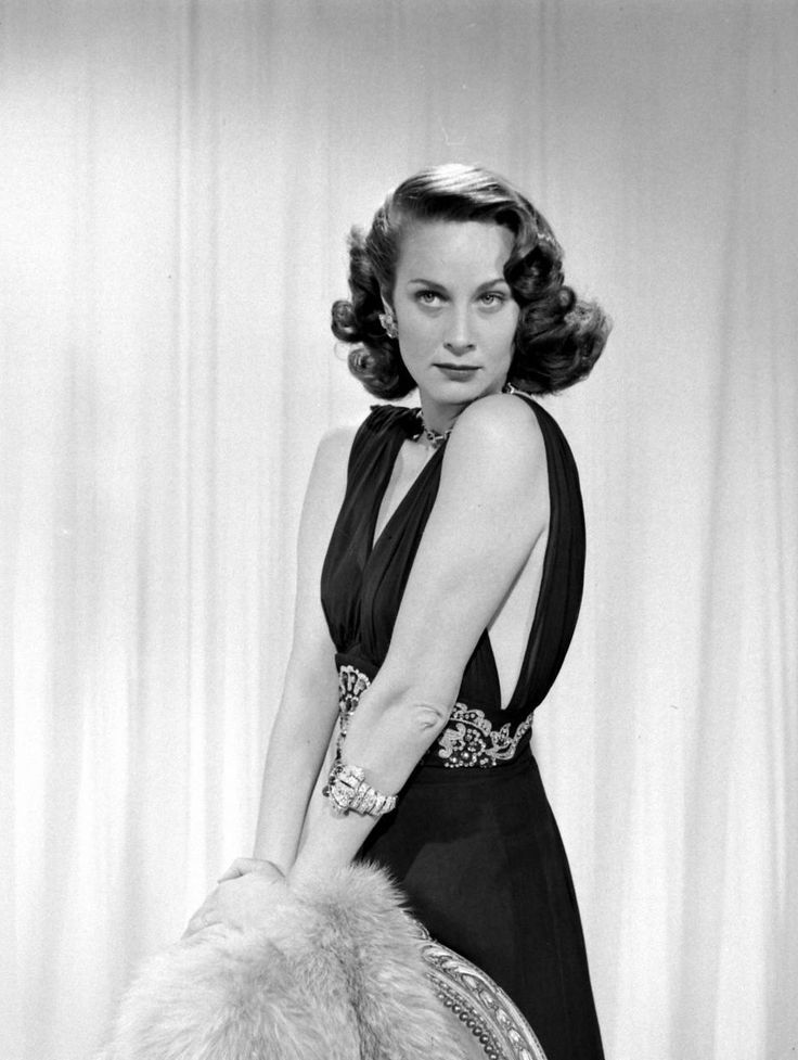 Alida Valli, 1949, the Italian actress who came to Hollywood at the request of…