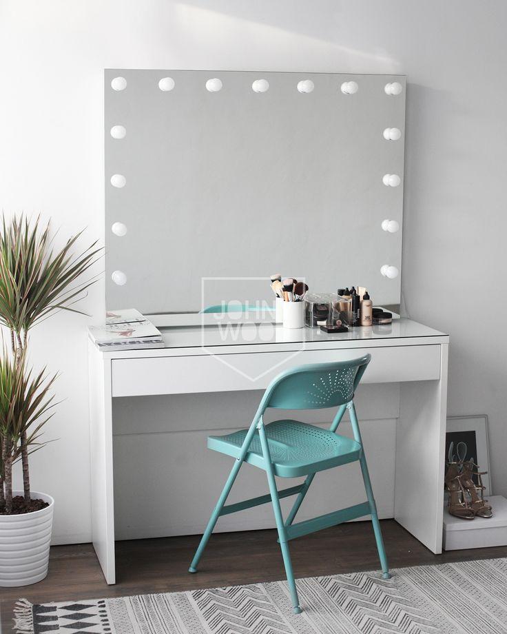 Vanity mirror #Гримернаястанция #Столикдлямакияжа #makeupmirror #makeuptable #гримерноезеркало