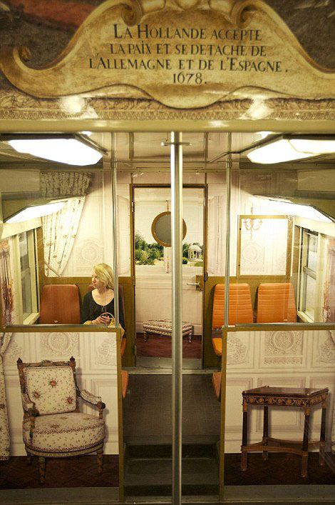 This French commuter train looks like an 18th-century palace | Grist