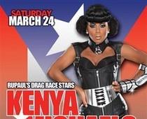 Drag artists Kenya Michaels and The Princess host at SPIN #drag