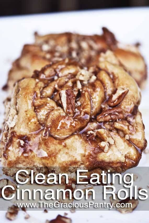 Clean Eating Cinnamon Rolls- I want this so bad right now