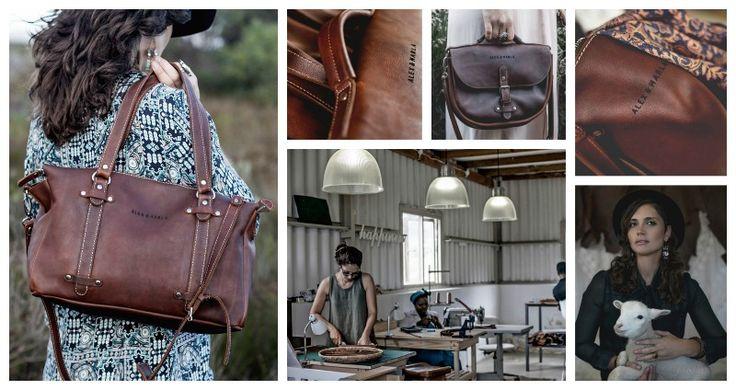 Alex & Marla bespoke leather goods Address: Off the R43 just passed Franskraal Tel: 076 207 9515 Email: info@alexandmarla.com