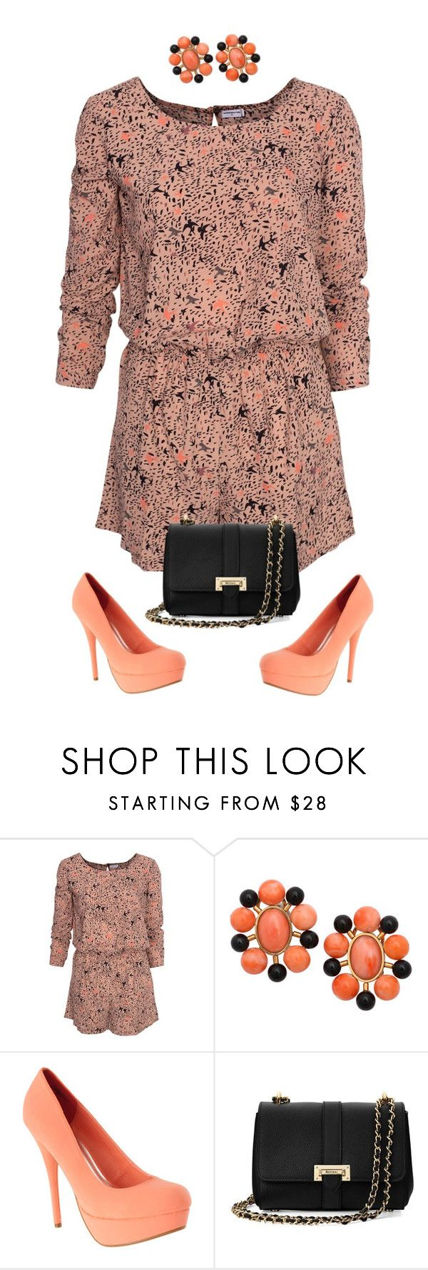 """Untitled #1348"" by ruru833 ❤ liked on Polyvore featuring Jacqueline De Yong and Aspinal of London"
