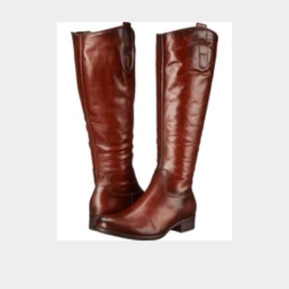 Brand new with tags! $395 Gabor boots size 8.5 Gorgeous pair of High end Riding boots from The luxury brand Gabor. Super soft brown leather with gorgeous stitching and details. Size 8.5. Gabor Shoes Winter & Rain Boots