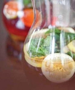 Lemon Soother Ginger Iced Tea