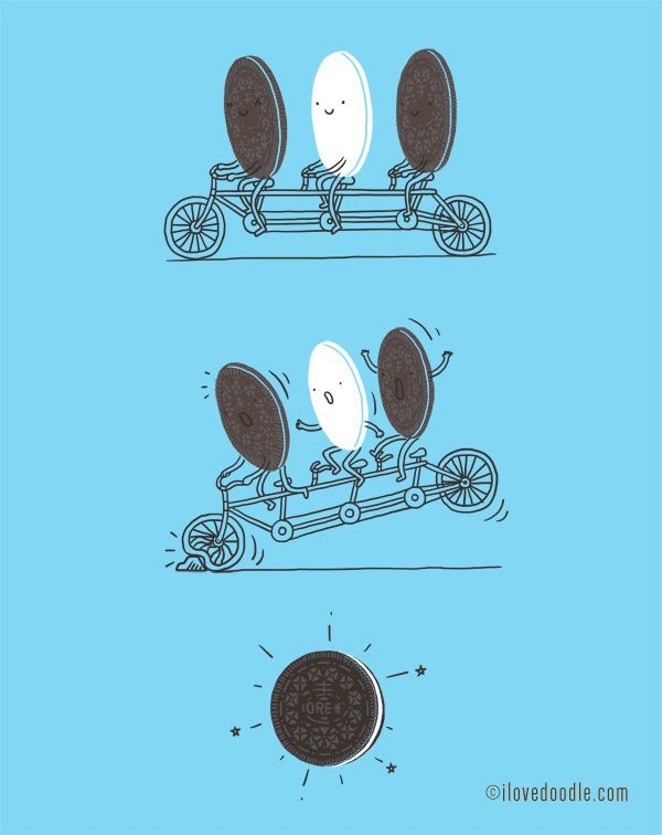 Accidentally Tasty by Lim Heng Swee http://www.ilovedoodle.com