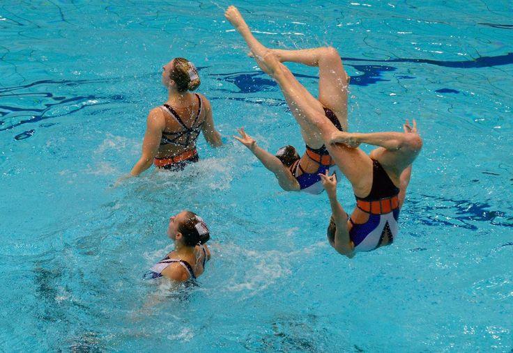 32nd LEN European #Swimming Championships - Berlin 2014. #BLN2014 #synchro