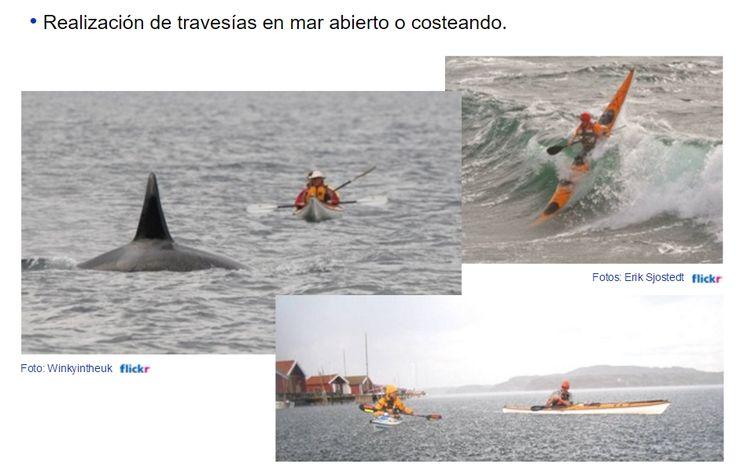 Piragüismo en mar: kayak de mar