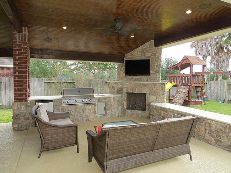 Exceptional Pretty Back Patio Design #KBHome #SanAntonio