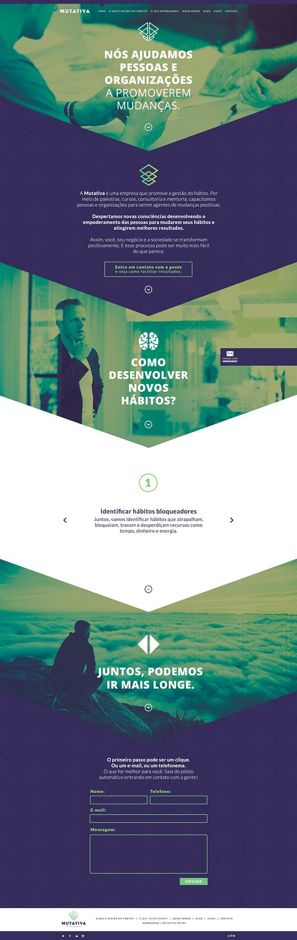 Best 25+ Design responsivo ideas on Pinterest | Website portfólio ...